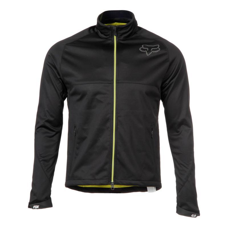 Fox Soft Shell Trail Jacket Mens Black