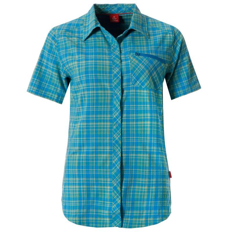 Košile Löffler Shirt Trekk Ld53 Blue/Green