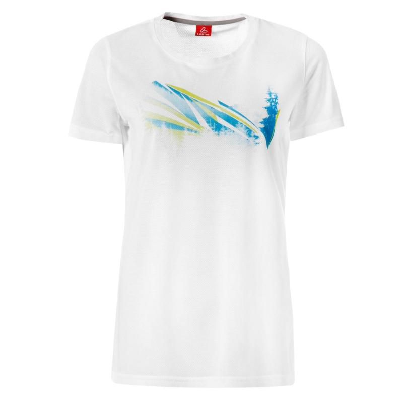Košile Löffler Tencel T Shirt Ladies White