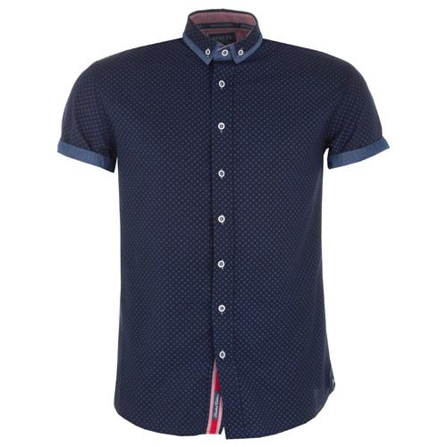 Košile Bewley And Ritch Mens Cabot Shirt Navy