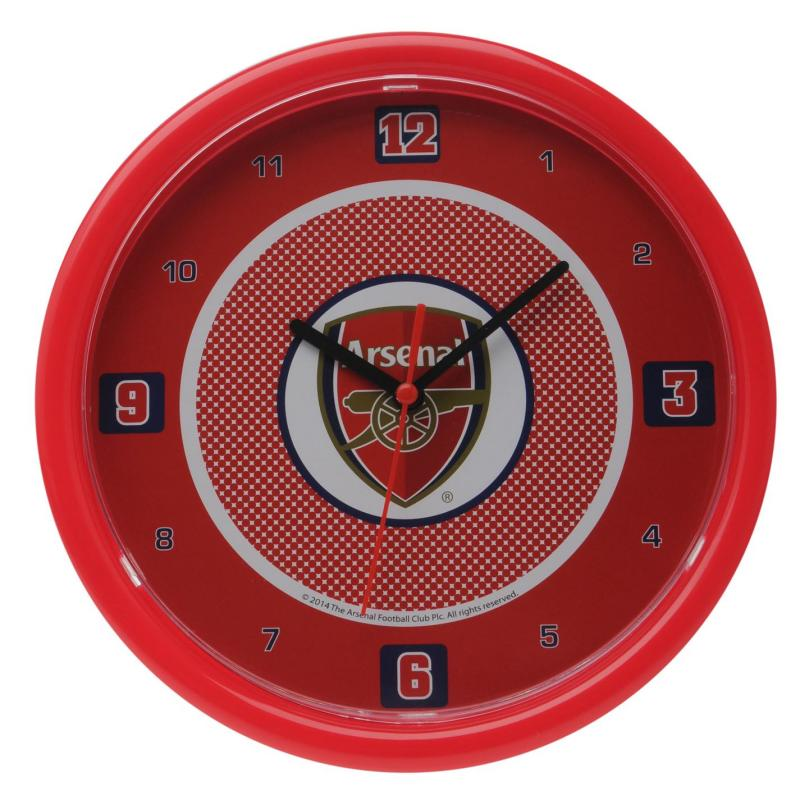Team Football Wall Clock Arsenal