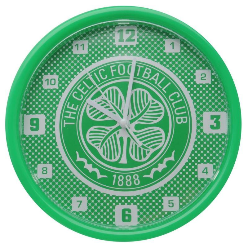 Team Football Wall Clock Celtic