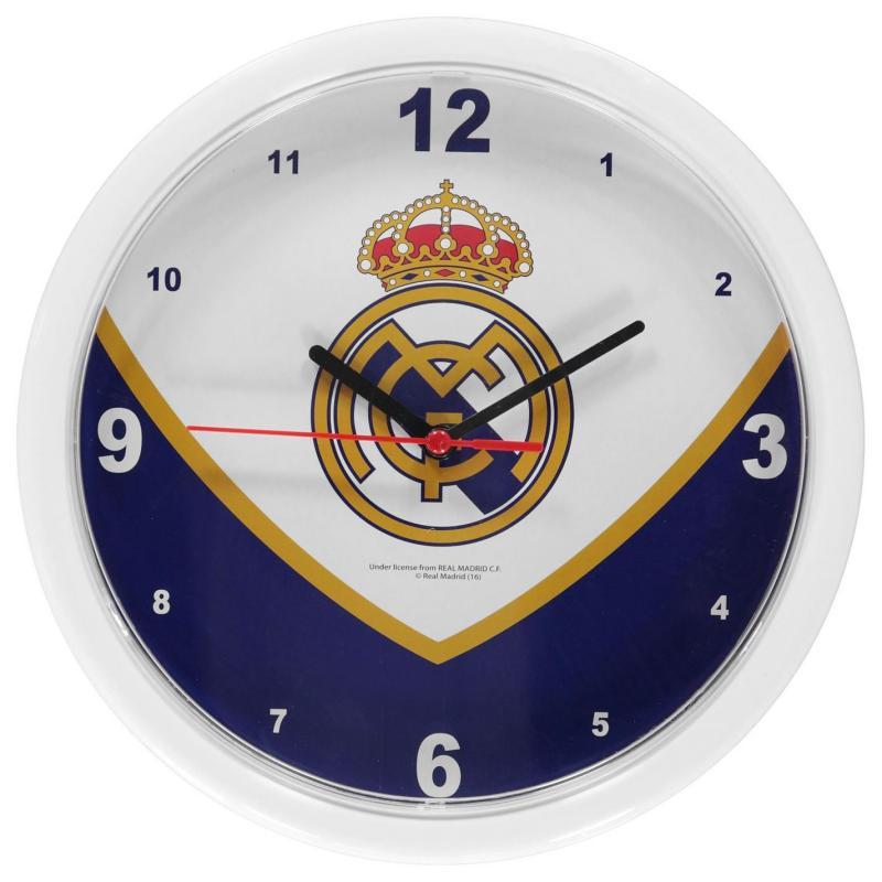 Team Football Wall Clock Real Madrid
