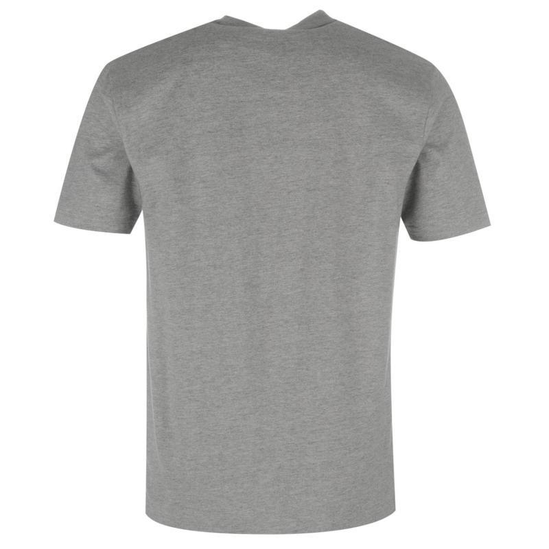 Tričko NUFC Crew T Shirt Mens Grey Marl