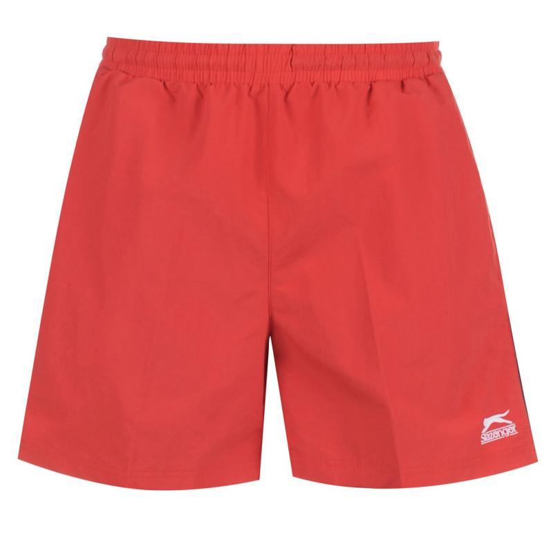 Plavky Slazenger Swim Shorts Mens Red