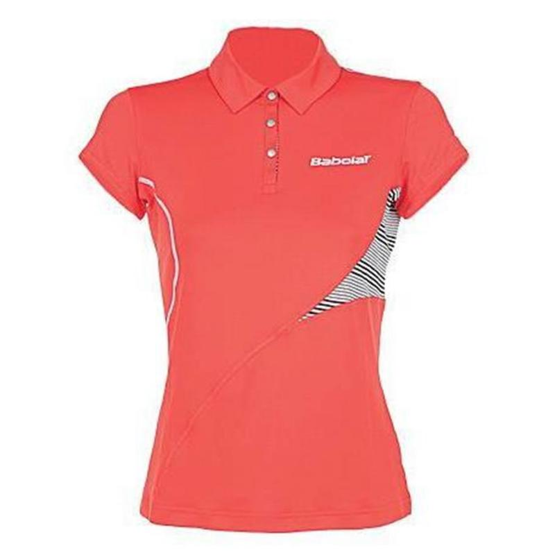 Polokošile Babolat Performance Tennis Polo Shirt Ladies Coral