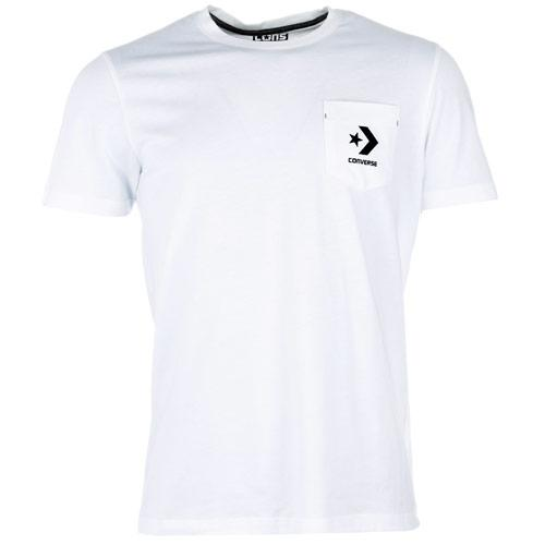 Tričko Converse Mens Champs Pocket T-Shirt White
