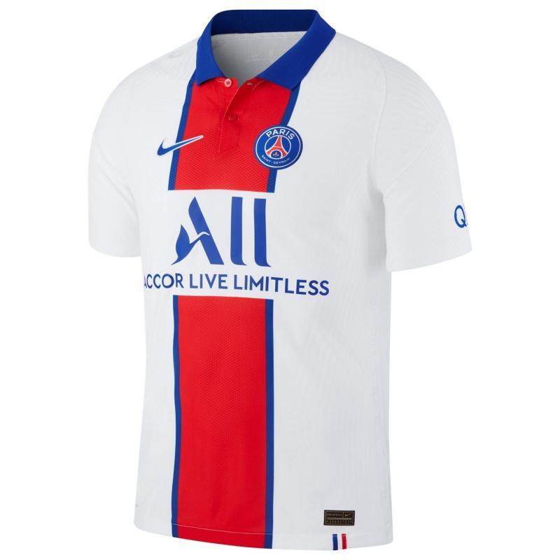 Nike Paris Saint Germain Vapor Away Shirt 2020 2021 WHITE/OLD ROYAL