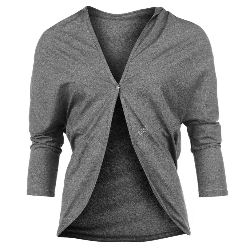 Mikina Casall Unit Ladies Cover Up Dk Grey