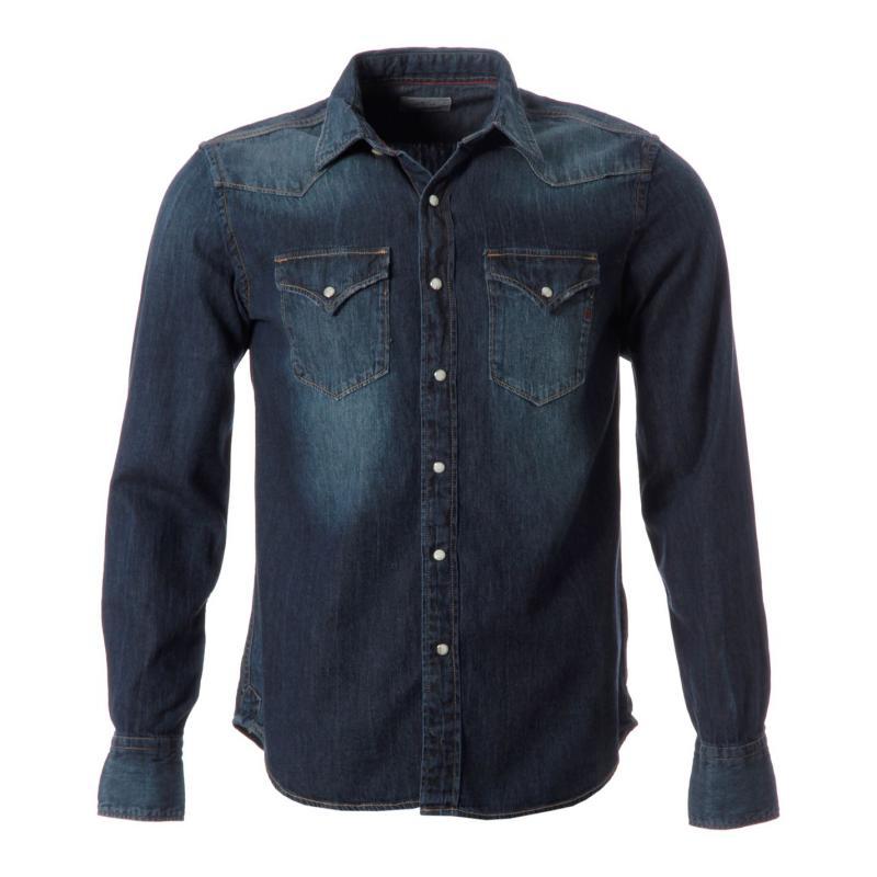 Replay Denim Shirt Snr52 007 Blue