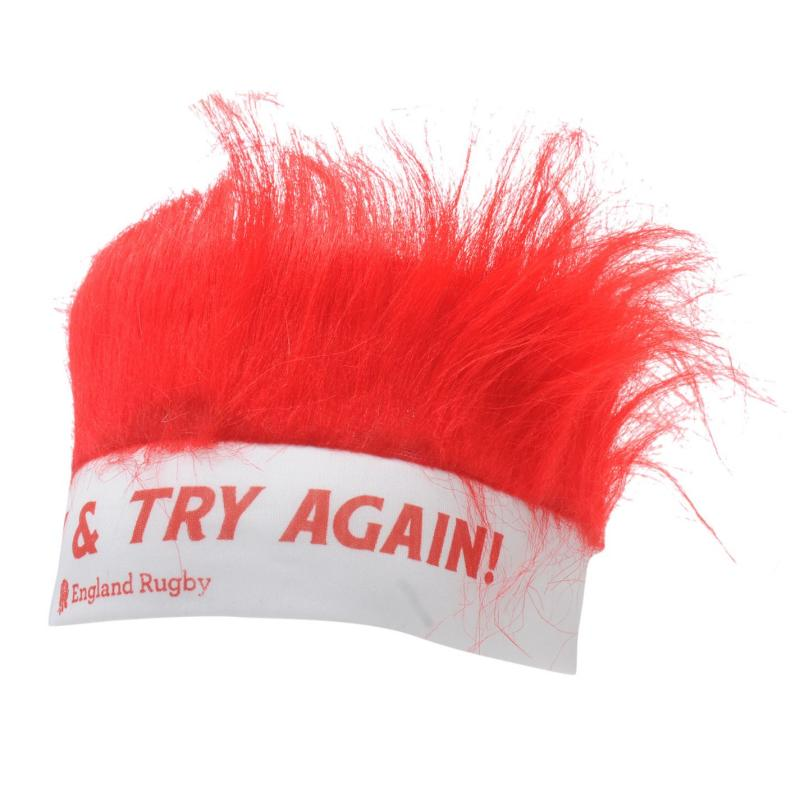 RFU Football Union Fury Head Band White/Red