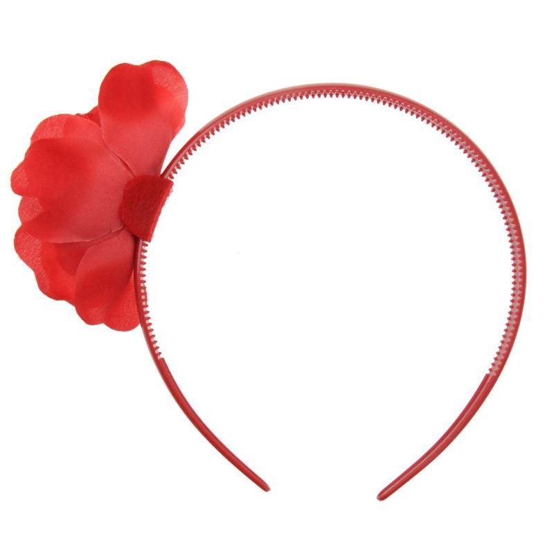 RFU Rose Alice Headband Red