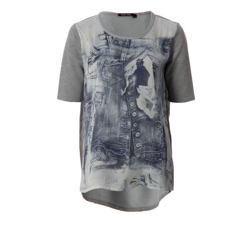 Košile Marc Aurel Aurel Shirts Lds43 Blue 14001
