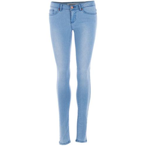 Noisy May Womens Eve Slim Jeans Light Blue