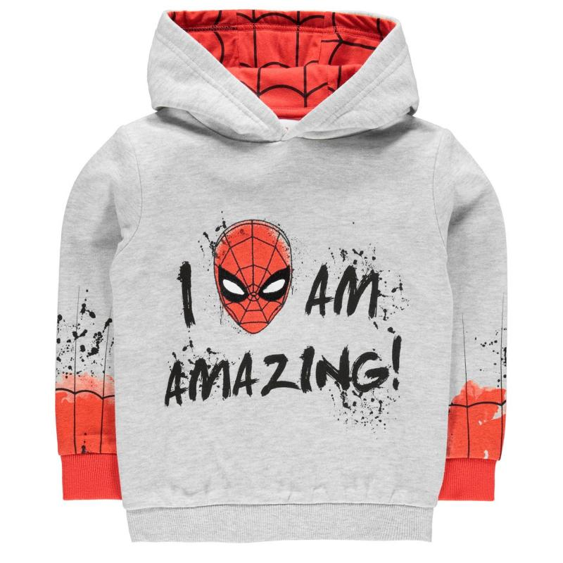 Mikina Character OTH Hoodie Infant Boys Spiderman 2