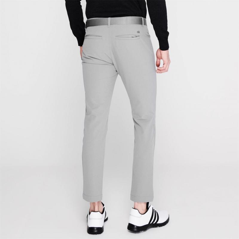 Kalhoty Calvin Klein Golf CK 4Way Stretch Trs Sn 02 Silver