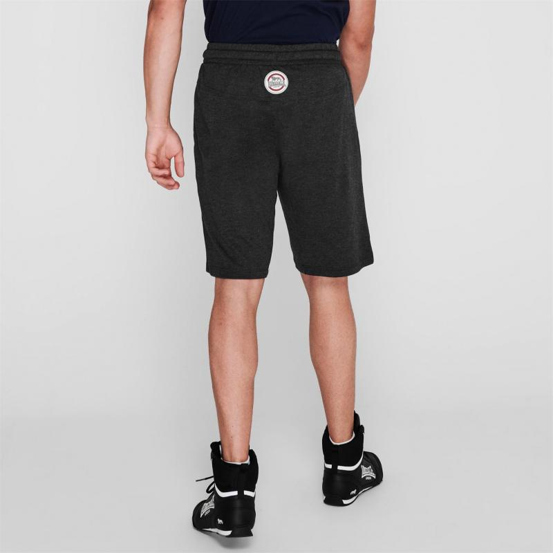 Lonsdale Box Lightweight Shorts Mens Charcoal M