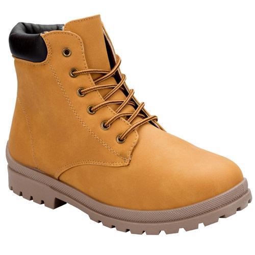 North Peak Womens Worker Boots Tan