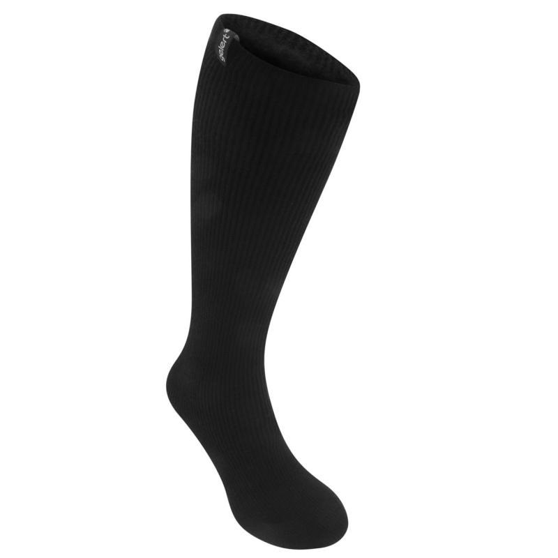 Gelert Heat 1 Pack Ladies Long Socks Black