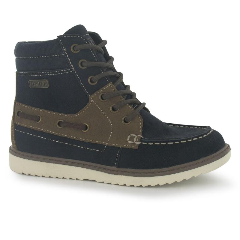 Boty Firetrap Maine Boot Childrens Navy