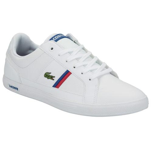 Boty Lacoste Mens Europa Trainers White