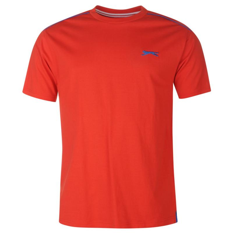 Tričko Slazenger Plain T Shirt Mens Red