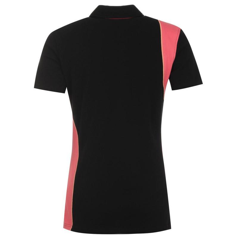 Polokošile Requisite Short Sleeve Polo Ladies Black