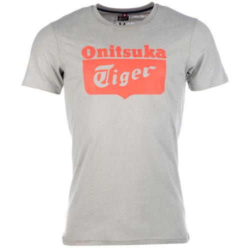 Tričko Onitsuka Tiger Light Grey