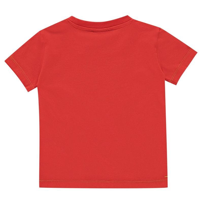 Tričko Slazenger Plain T Shirt Infant Boys Navy