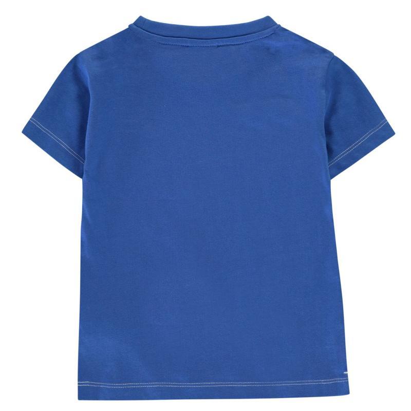 Tričko Slazenger Plain T Shirt Infant Boys Blue