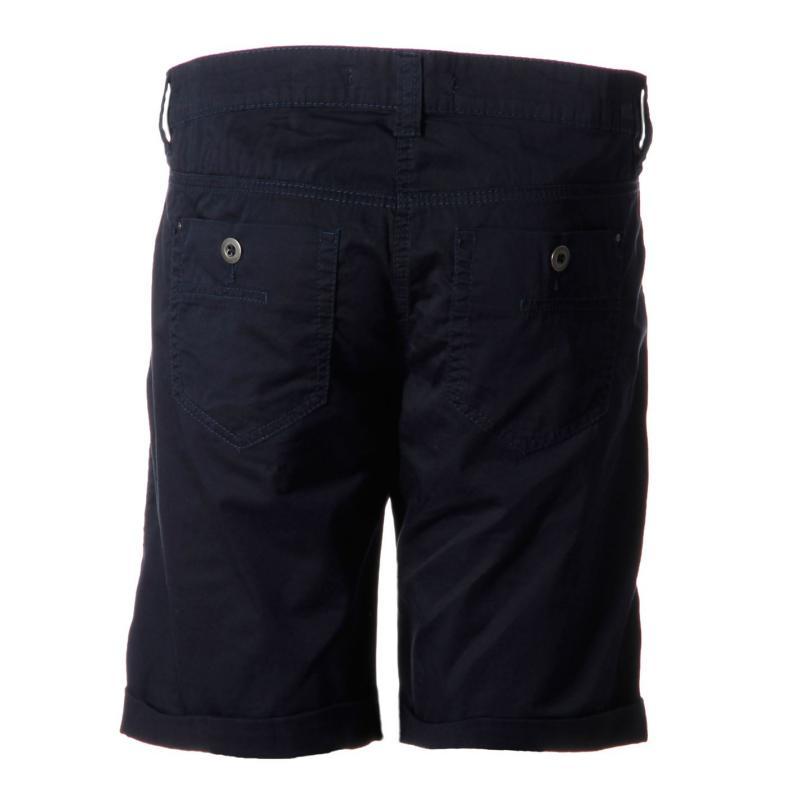Mac Casual Short Ladies navy blue