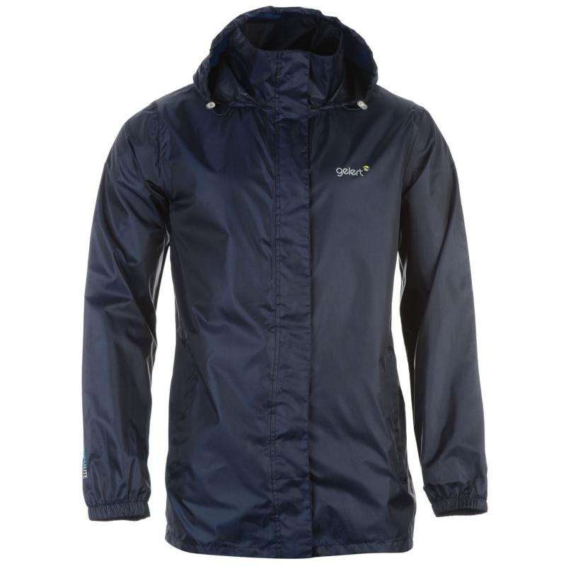 Gelert Packaway Mens Waterproof Jacket Navy