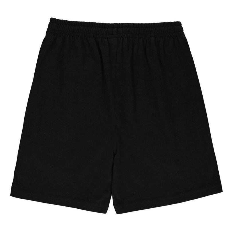 Kraťasy Slazenger Jersey Shorts Junior Navy