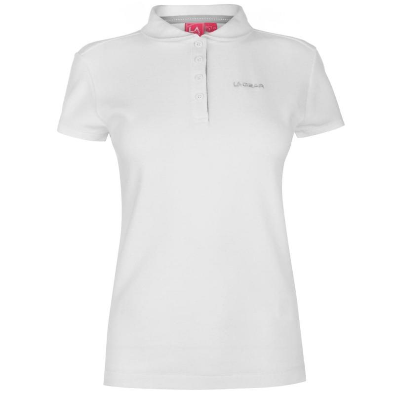 Polokošile LA Gear Pique Polo Shirt Ladies White