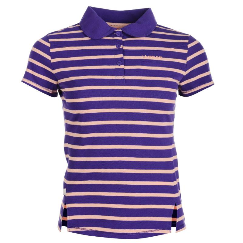 Polokošile LA Gear Yarn Dye Polo Womens Purple
