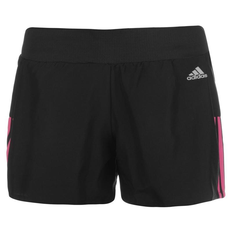 Adidas Quest Ladies Running Shorts Black/Pink