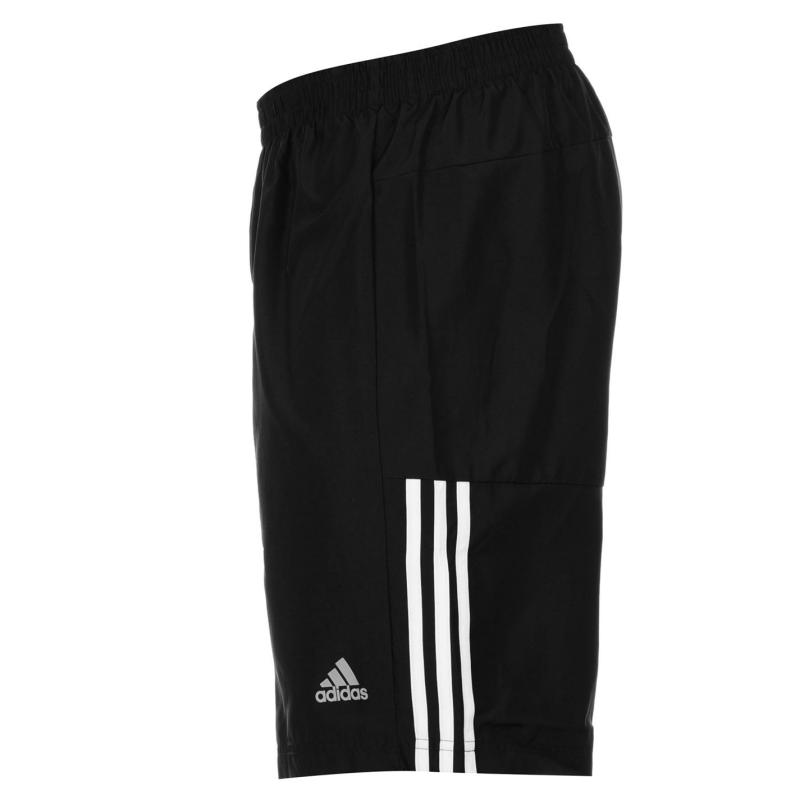 Adidas Questar Nine Inch Shorts Mens Black/White