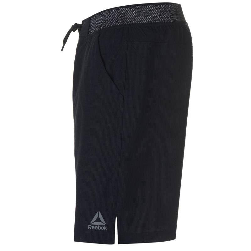 Reebok Epic Knitted Waistband Shorts Mens Black