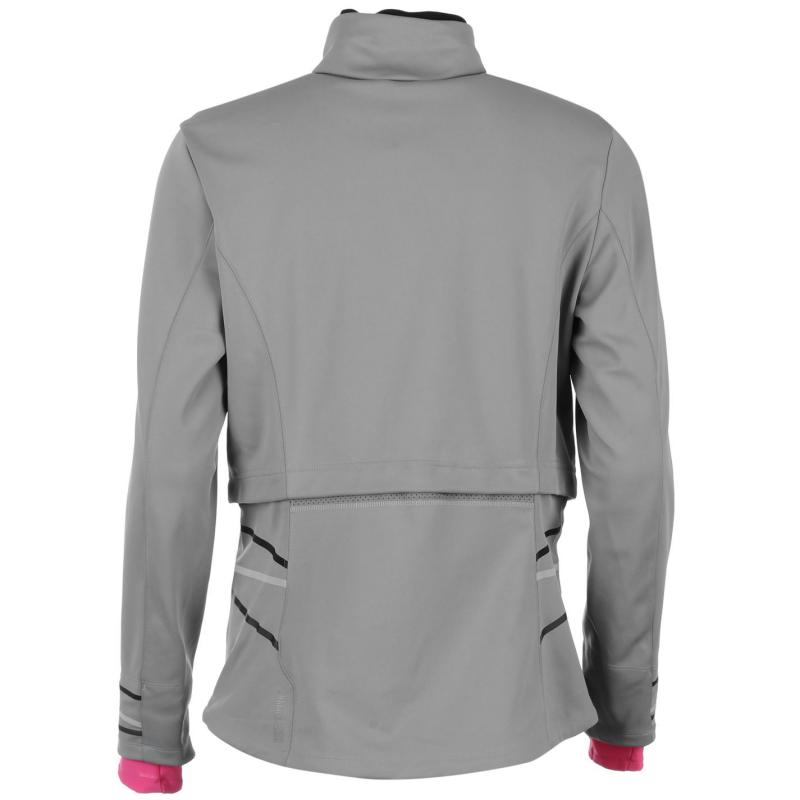 Gore Mythos Wind Stopper Jacket Womens Seal Gray