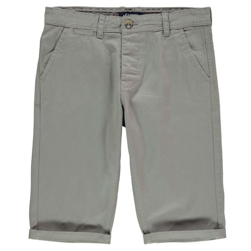 Kraťasy Kangol Chino Shorts Juniors Dark Sand