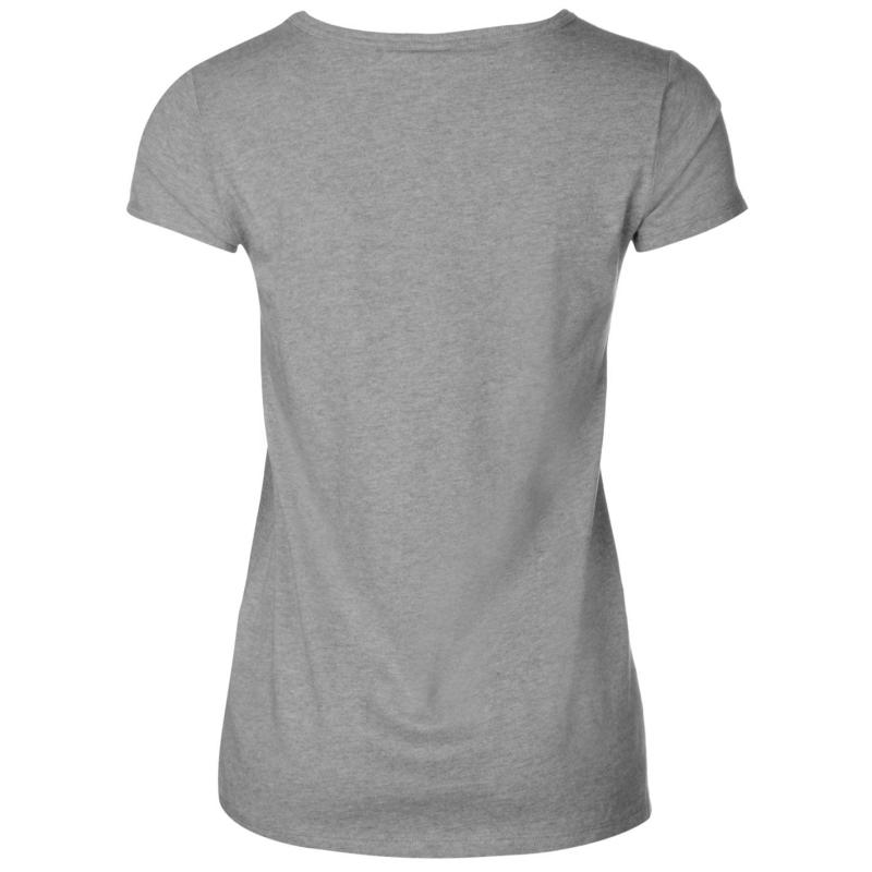 Helly Hansen Heritage T Shirt Womens Grey Melange