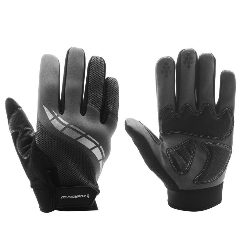 Muddyfox Cycle Glove Adult Charcoal