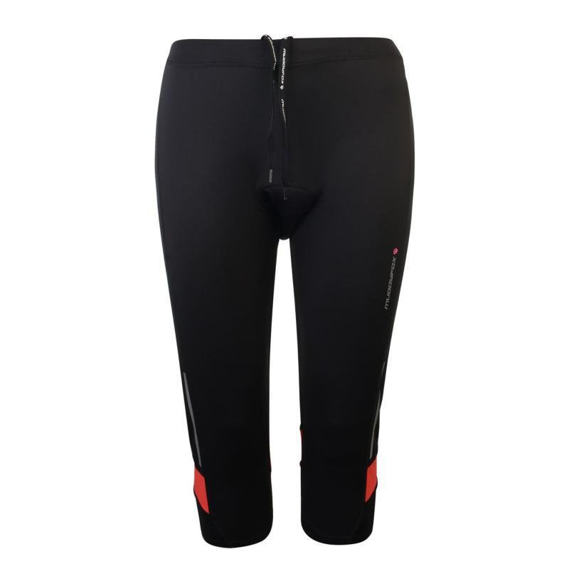 Muddyfox Cycle Padded Capri Shorts Ladies Black/Pink