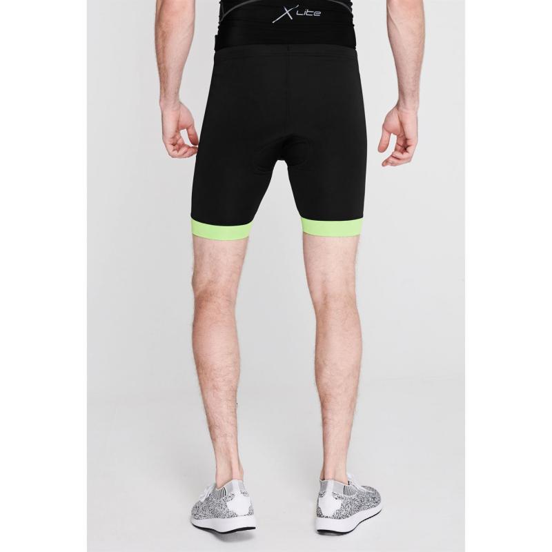 Muddyfox Padded Cycling Shorts Mens Black/Green