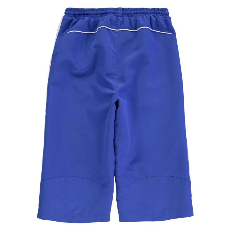 Kraťasy Slazenger Three Quarter Woven Shorts Junior Boys Black