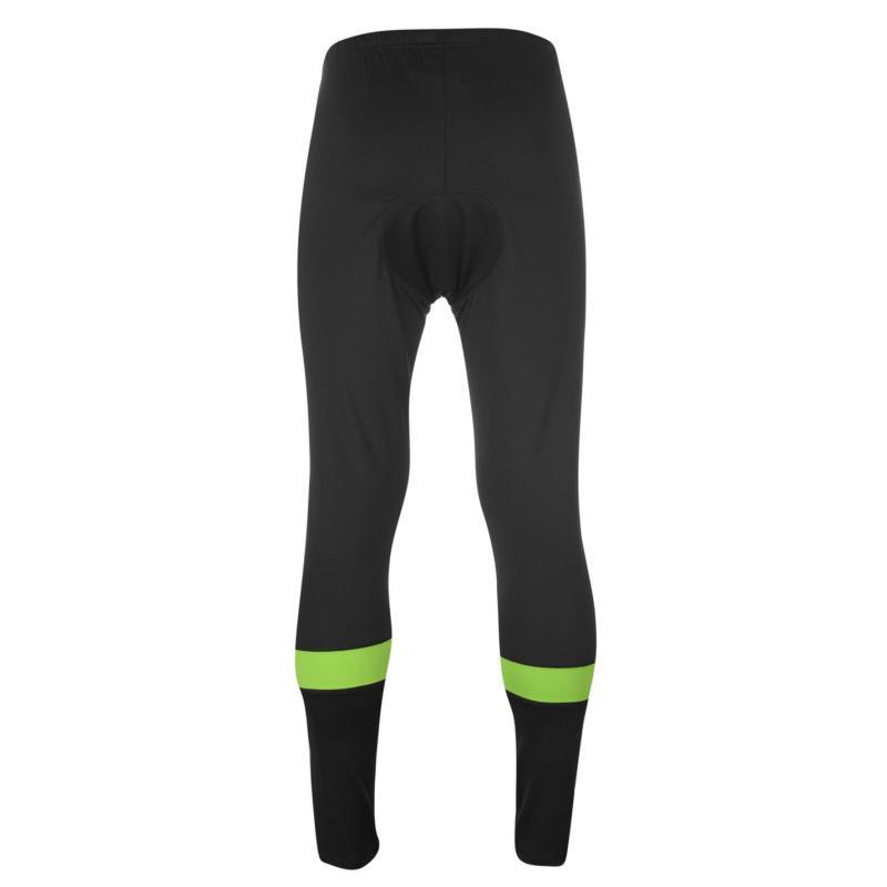 Muddyfox Cycle Padded Tights Mens Black/Green