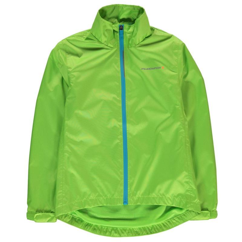 Muddyfox Cycle Jacket Junior Fluo Green