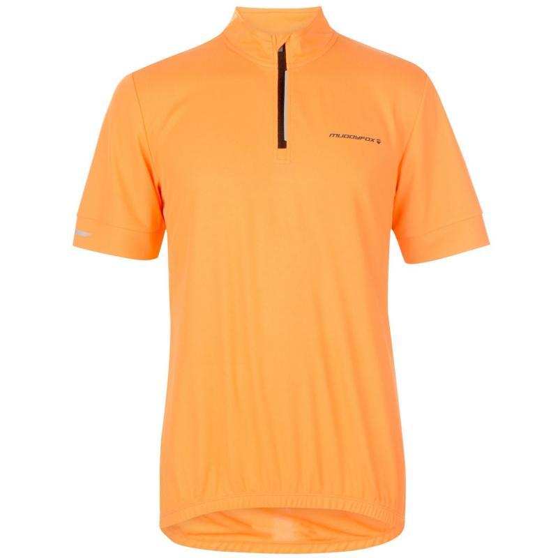 Muddyfox Cycling Short Sleeve Jersey Mens Orange