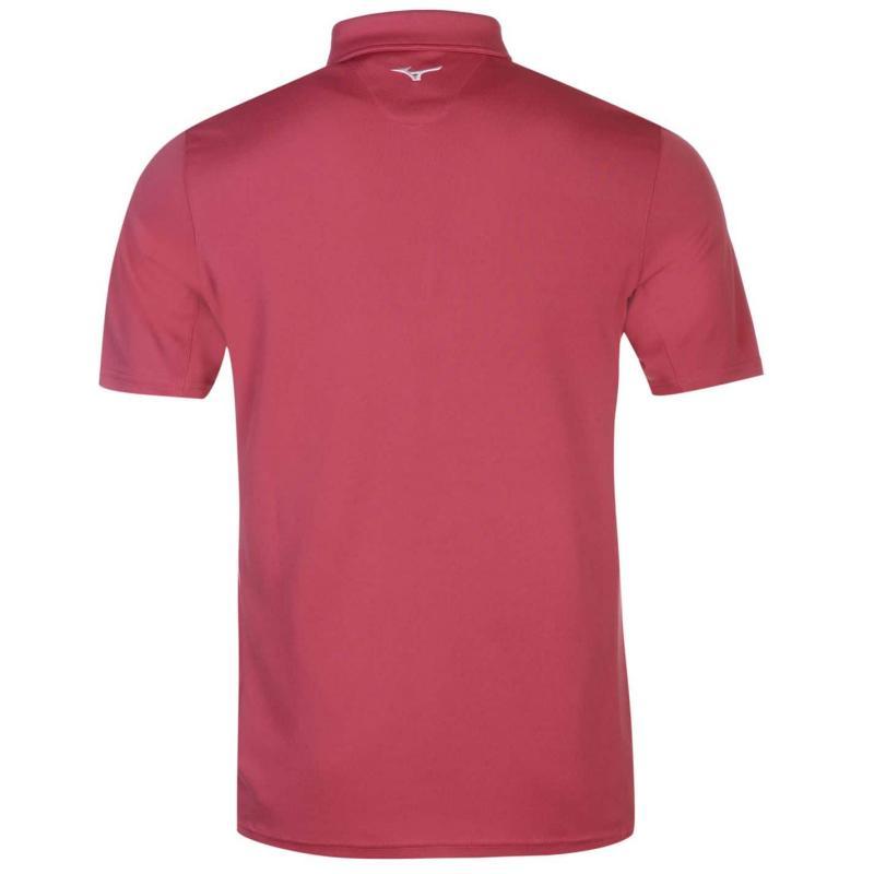 Mizuno Plain Golf Polo Mens Pink