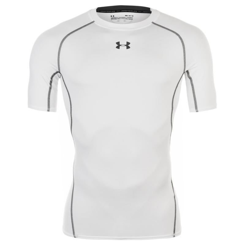Under Armour Heatgear Core T Shirt Mens White